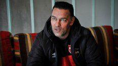 Fernando Gamboa asumió con satisfacción y compromiso el regreso a Newells.