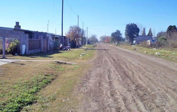 Zona afectada. Los barrios Nueva Roma y Yapeyú
