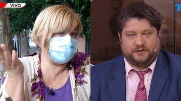 La infectóloga Gabriela Piovano cruzó duramente al periodista Nicolás Wiñazki en vivo en TN.