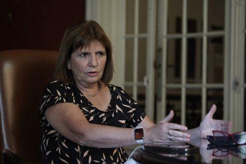 """Patricia Bullrich dijo que lo """"natural"""" es que Vidal sea candidata en la provincia de Buenos Aires."""