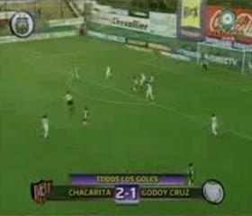 Chacarita le ganó 2-1 al Tomba en tiempo de descuento