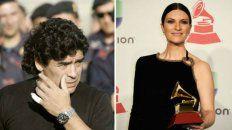 Laura Pausini cuestionó a los medios de comunicación por la enorme atención que le brindaron a la muerte de Maradona.