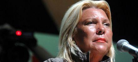 Carrió deslizó complicidad de Cristina en el caso de la valija bolivariana
