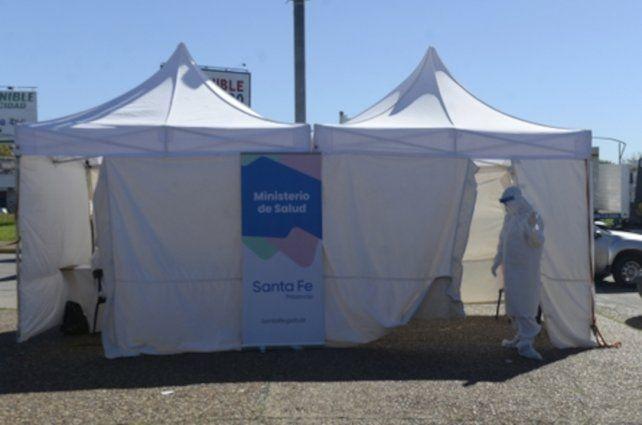 Hisopados. La provincia de Santa Fe aumentó los puestos de testeos en Rosario.