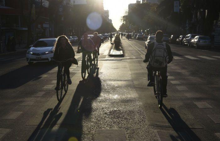 Rosario es la ciudad de América latina con mayor concentración de ciclistas.