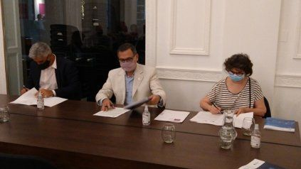Tras la firma del acuerdo comenzaron las acciones para poner en funcionamiento el innovador espacio.