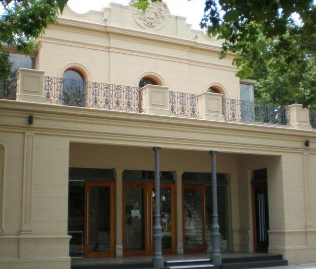 El teatro municipal Dante