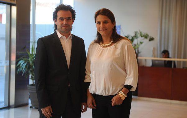 Expertos. Federico Gutiérrez Zuluaga y Paola Holguín