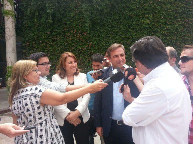 Fein se reunió con Mestre y expresaron su preocupación por los subsidios al transporte