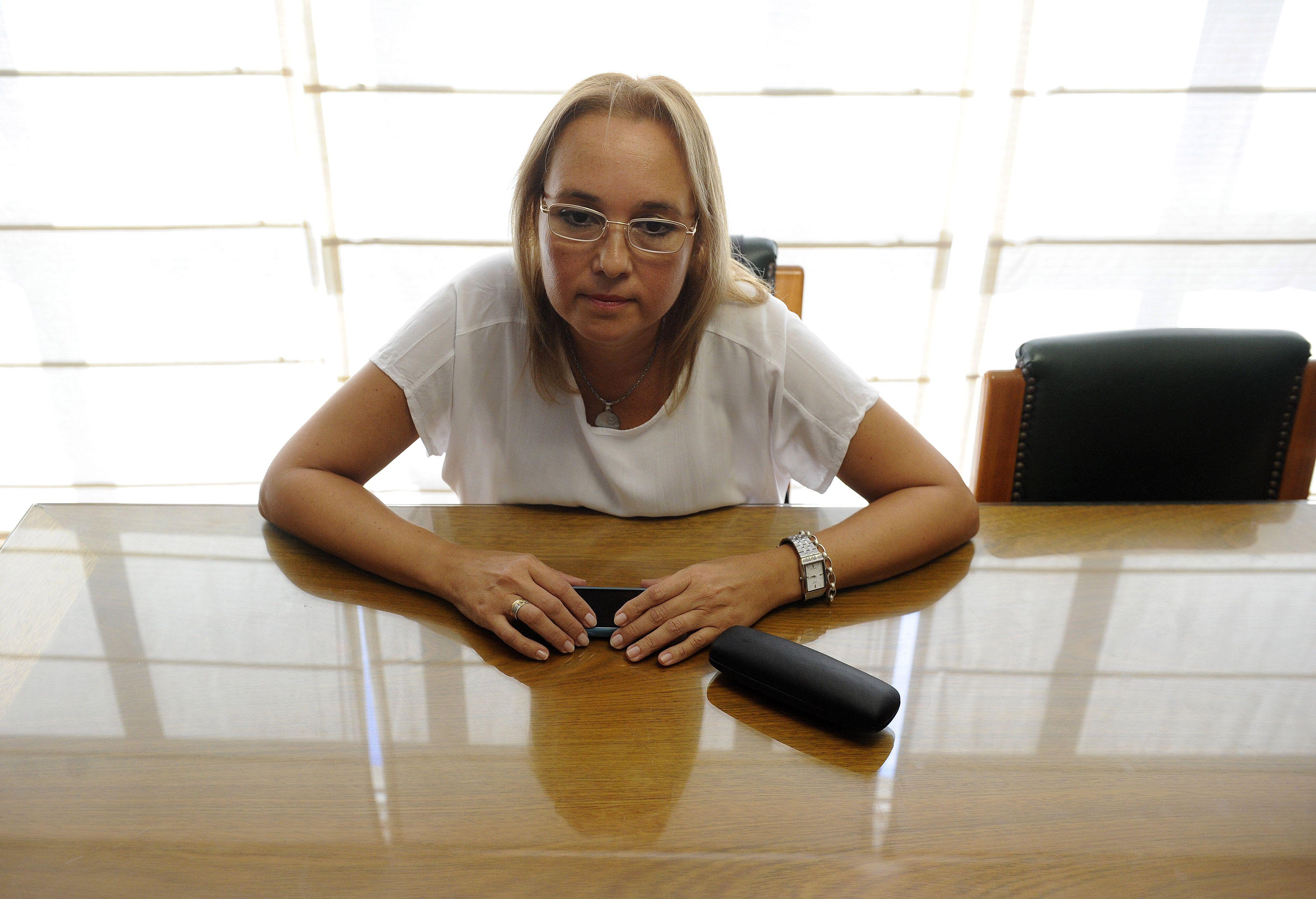 La administradora Mariela Calvillo habló por primera vez. (Foto: H. Rio)