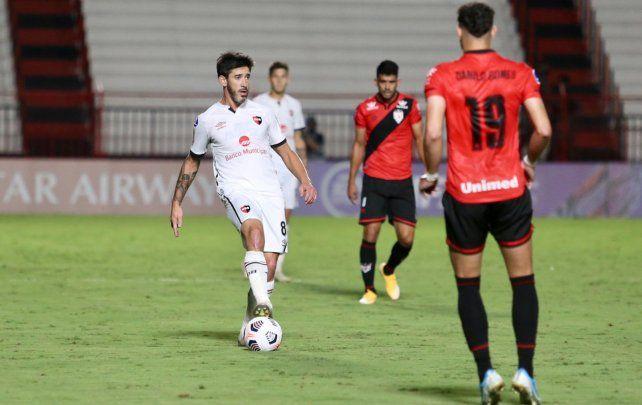 Newells se trajo un punto de Brasil en el debut en la Copa Sudamericana