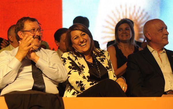 Sonrientes. El electo concejal y actual ministro de Salud