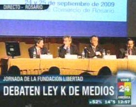 Vila: Este proyecto de ley de medios es estatista y busca regular los contenidos