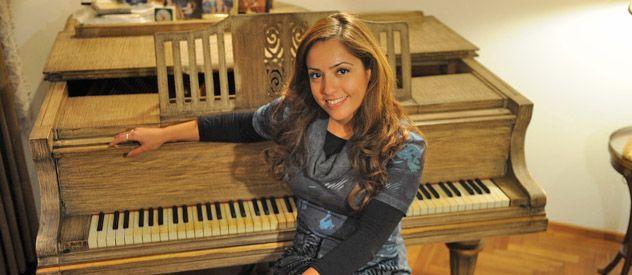 A horas del premio María Florencia llegó a Rosario
