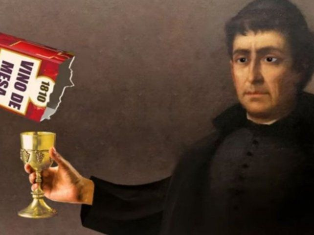 Un video institucional de tono burlesco que vincula a la Revolución de Mayo con el consumo de vino.