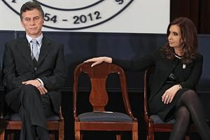 El jefe de Gobierno porteño y la presidenta en una imagen de septiembre pasado.