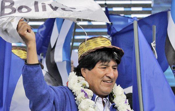A las urnas. Morales buscará en este tercer mandato ampliar los programas sociales que catapultaron su popularidad.
