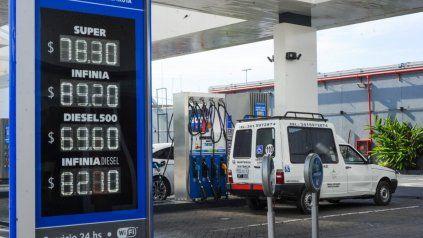 La petrolera estatal dispuso aumentos desde esta medianoche.