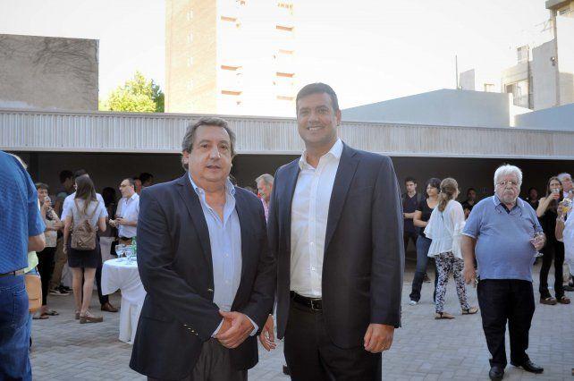 Gonzalo Crespi y Luciano Morad