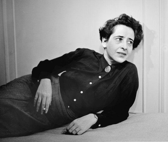 Hannah Arendt.