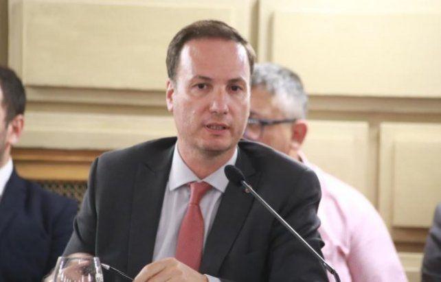 El senador Lisandro Enrico estuvo a cargo de elaborar la acusación contra el fiscal Spelta.