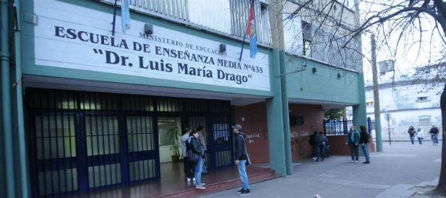 La escuela Luis María Drago