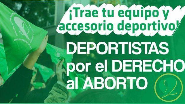 El deporte local se expresa sobre el Proyecto de Ley de Interrupción Voluntaria del Embarazo