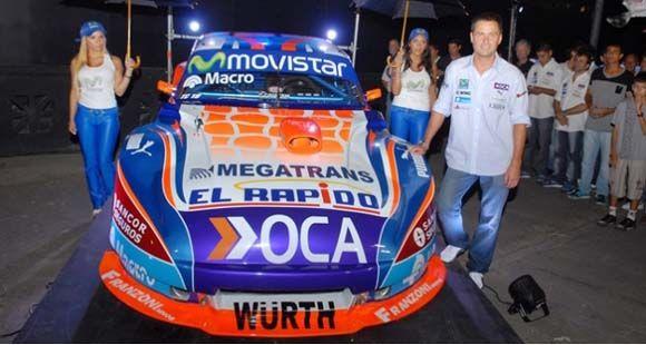 El Kun Agüero presentó su equipo para el Turismo Carretera