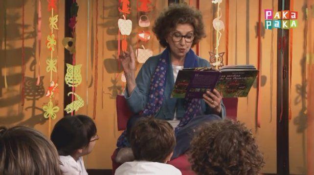 ¿A quién no le gustaría que Norma Aleandro le lea un cuento?