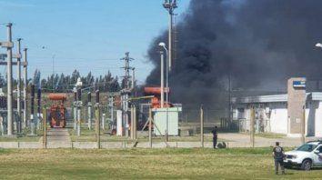 Hace un mes Roldán y Funes estuvieron varias horas sin luz tras la explosión e incendio de la estación Aeropuerto.
