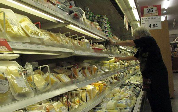 Góndolas calientes. El ministro Yauhar acusó de chorros a los supermercadistas