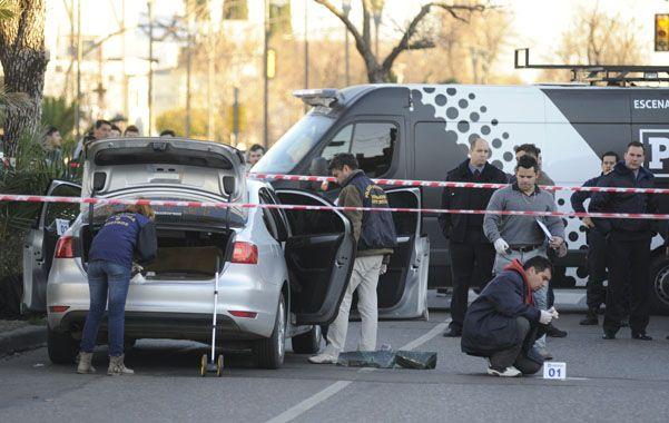 A Víctor Garnero lo mataron en su VW Vento en Oroño y Gaboto el viernes poco antes de las 16.