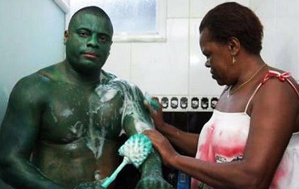 Paulo Henrique dos Santos es el nuevo Hulk brasileño.
