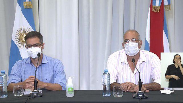 Garcilazo y Bantar reportan datos sobre el Plan Rector de Vacunación y situación epidemiológica de Entre Ríos respecto a la pandemia del Covid-19 Coronavirus