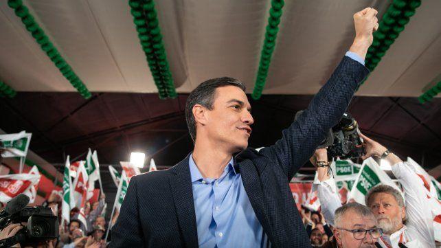Al frente. Pedro Sánchez podría seguir gobernando España luego del 28A.