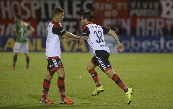 El experimentado delantero ingresó sobre el final del partido.