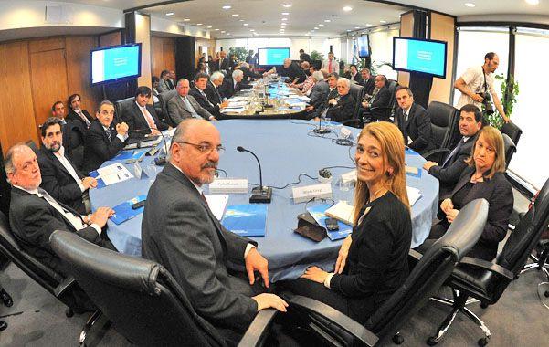 Mesa de diálogo. Tomada habilitó la semana pasada la comisión para discutir el combate al empleo en negro.