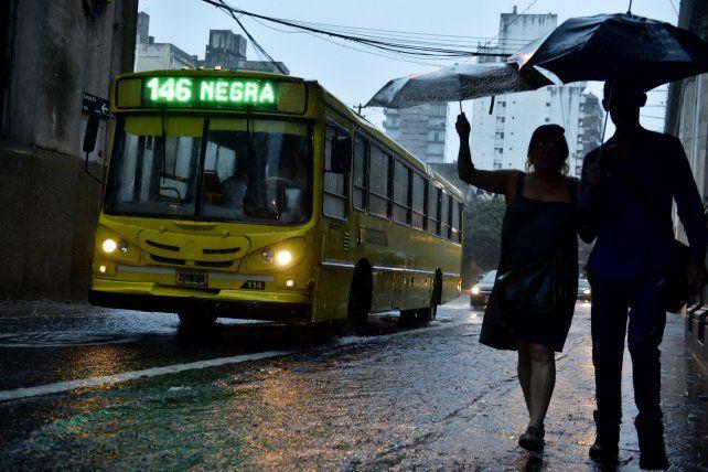 Rige un alerta meteorológico por tormentas fuertes o severas en Rosario y la región