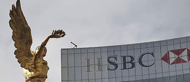 Dinero sucio. La sucursal del HSBC británico en Ciudad de México.