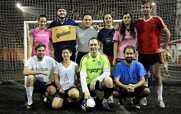 Parte del equipo que jugó esta semana. Hay goles
