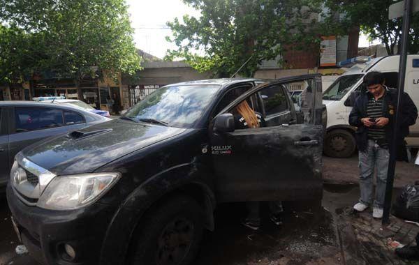 La Toyota Hilux de Julio Bereciartu