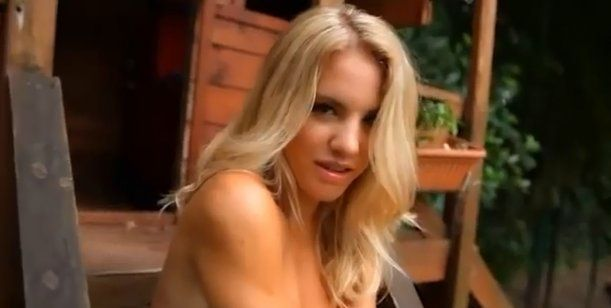 Sofía contó que lo vio varias veces al actor y dijo que es lindo.