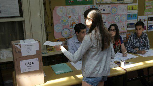 El voto joven y las autoridades de mesa