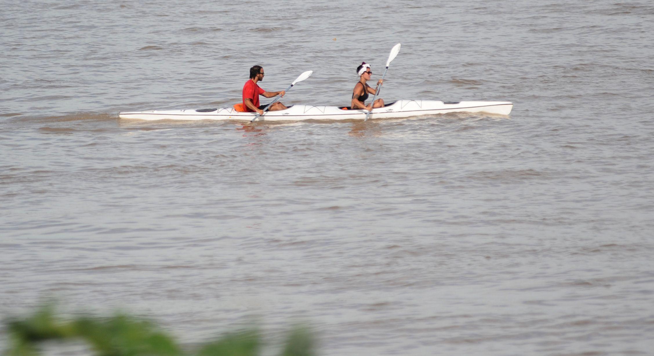 seguros. El municipio dicta cursos para mejorar la seguridad en el río. (E.Rodríguez)