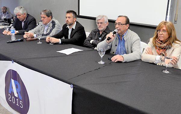 Rossistas. Los referentes territoriales de la provincia confían en el Chivo.