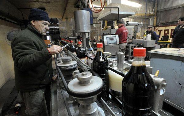 Histórica. La firma Trechel llegó a producir 500 mil litros mensuales de jugo. Luego del cierre