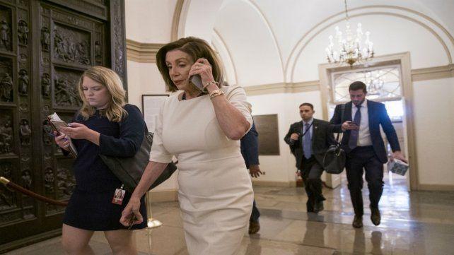 La presidenta demócrata de Representantes