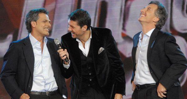 Tinelli abrió ShowMatch con palabras sobre la elección y el triunfo de Macri