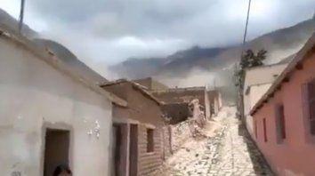 Video: un fuerte sismo sacudió a Salta y Jujuy y produjo diversos derrumbes