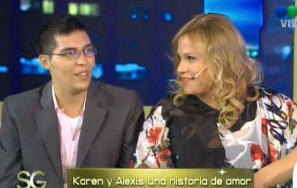 Con Susana Giménez. La pareja transexual contó su vida.
